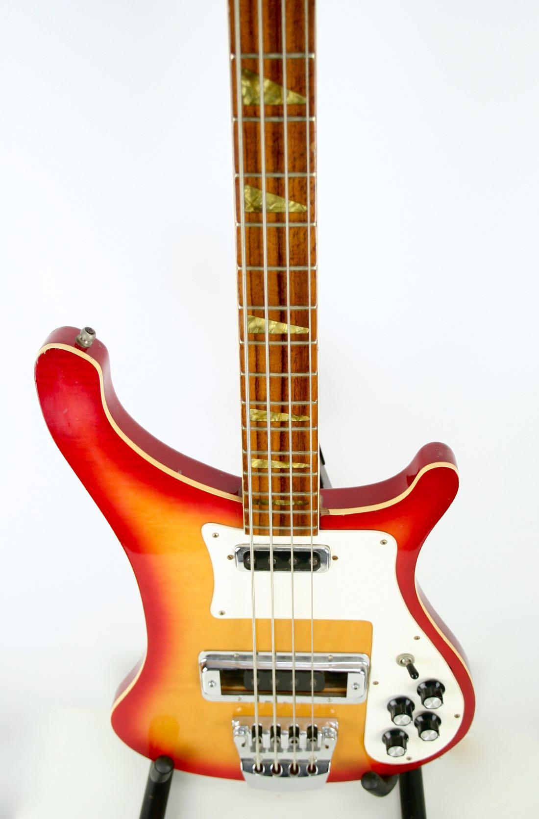 RARE 70s Vintage Hondo II Bass Guitar!! ☆ Joy Division